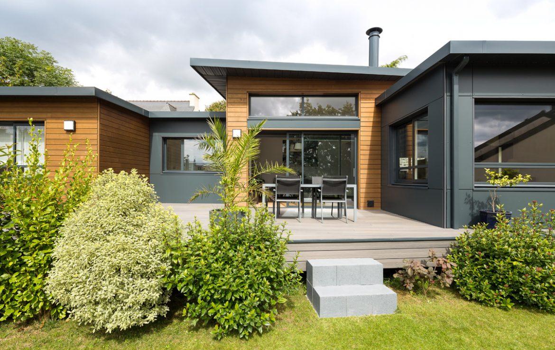 Perfect maison ossature bois with maison bois 77 for Achat maison bois