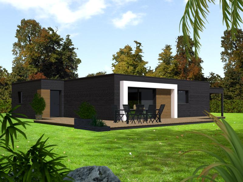 Maison ossature bois Seine-et-marne 77